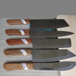 KITCHEN KNIFE KIWI BRAND QUALITY KITCHEN CHEF'S KNIVES WOODE
