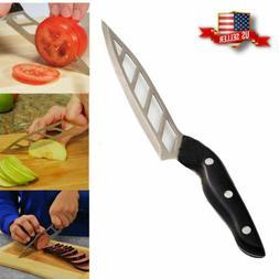 Forever Sharp Non-Stick Kitchen Chef Knife Steak Vegetable F