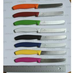 KITCHEN KNIFE SET OF 8 KNIFES VICTORINOX SWISS KNIFE  4' INC