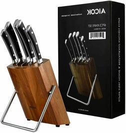 Aicok, Kitchen Knife Set, Professional 6-Piece Knife Set