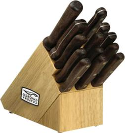 Chicago Cutlery Kitchen knives Classic Chef Block Set. Inclu
