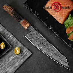 Damascus Kitchen Knives vg10 Japanese Damascus Steel Chef Ki
