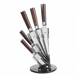 Kitchen Knives With Color Wood Handle Stainless Steel Kitche