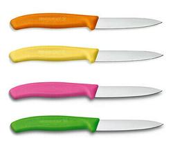 Victorinox Kitchen Paring Knife, Straight Edge Spear Tip, 3.