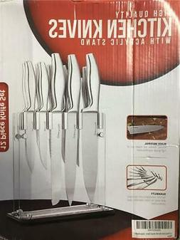Utopia Kitchen Knife 12 Pieces Set, Stainless Steel Knives w