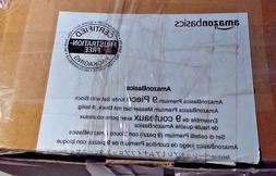 AmazonBasics Premium 9-Piece Knife Block Set NEW