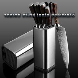 Knife Block Storage Stand Holder Kitchen Knives Stainless St