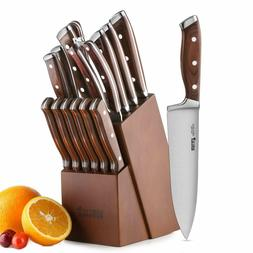 Knife Set, Kitchen Knife Set15 Germany High Carbon Stainless
