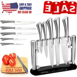 Utopia Kitchen Knife Set 430 Grade Stainless Steel 6 Piece K