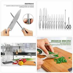 knife set high carbon stainless steel kitchen