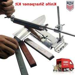Knife Sharpener Professional Kitchen Sharpening System Fix-a