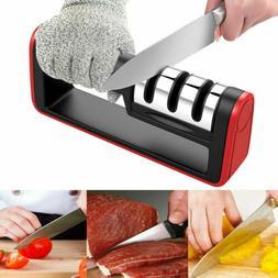 KNIFE SHARPENER Professional Ceramic Tungsten Kitchen Sharpe