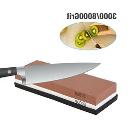 Knife Sharpening 3000/8000 Grit Stone Kitchen Whetstone Shar