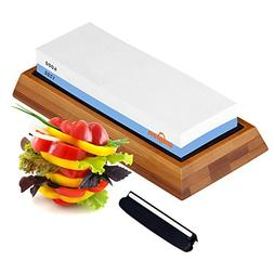 Knife Sharpening Stone – Double-Sided Waterstone - 1000/60