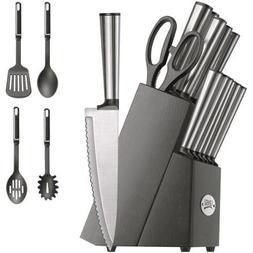 Ginsu Koden Series 18-Piece Stainless Cutlery Set