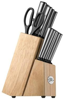 Ginsu Koden Series 14-Piece Stainless Steel Serrated Knife S