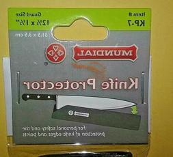 Mundial KP-7 Knife Protector, Cover 12.5 x 1.5, Black **NEW