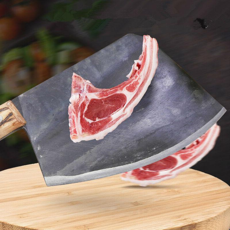 19cm Kitchen Forged Steel Knife Slice Meat Steak Cut Chef Bo