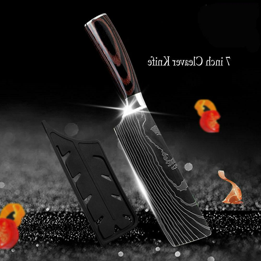 Kitchen Knives Chef Cleaver Stainless Steel Utility Knife