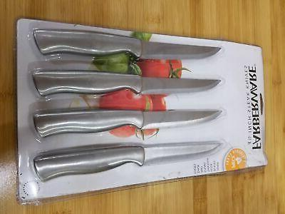 412 inch stainless steel steak knives set