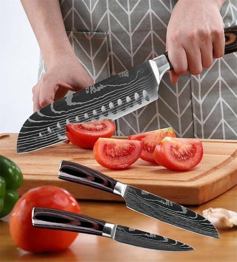 5 Kitchen Set Stainless