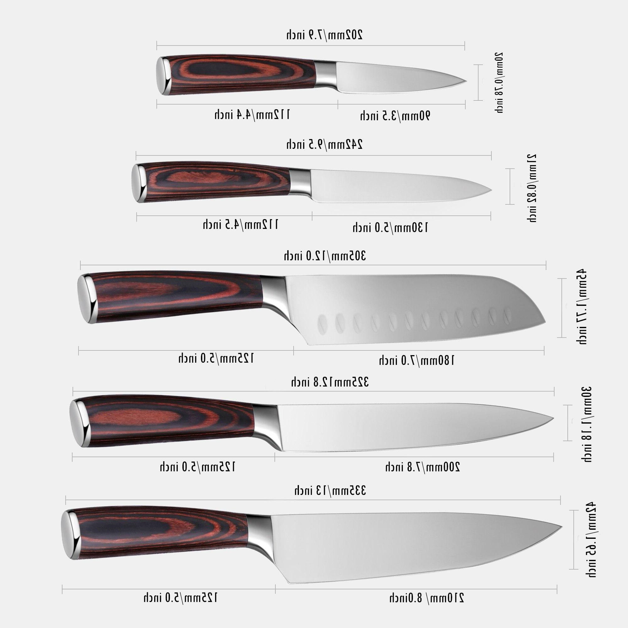 Set Professional Japanese Chef <font><b>Knives</b></font> Stainless Paring <font><b>Knife</b></font>