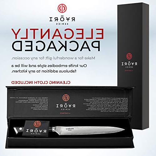ChefWave – 67 Ultra Steel - AUS-10 Blade Handle, Ryori Kitchen Knives
