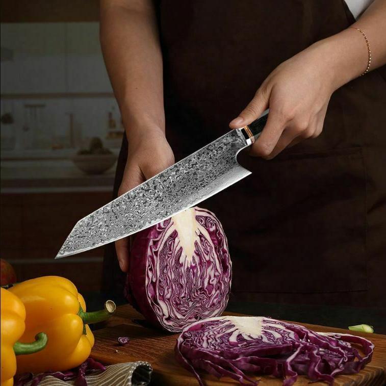 67 layers japanese damascus kiritsuke chef knife