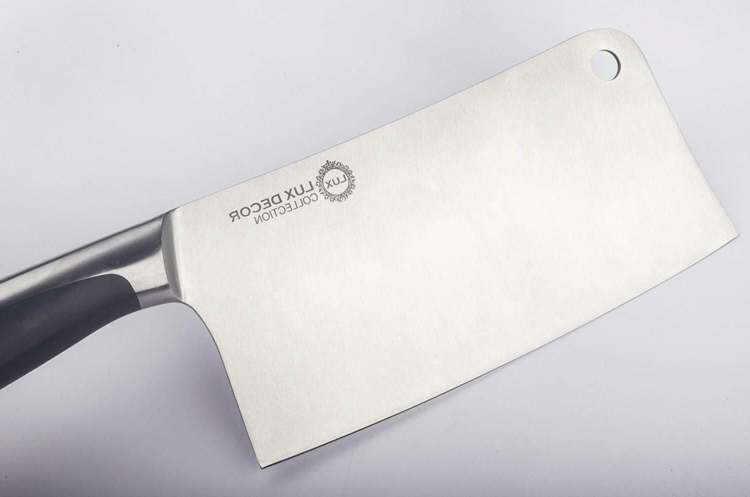 """7"""" High Stainless Steel Cleaver- Knife- Kitchen"""