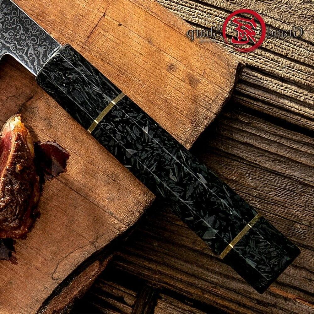 8.2'' Damascus vg10 Japanese Steel Chef
