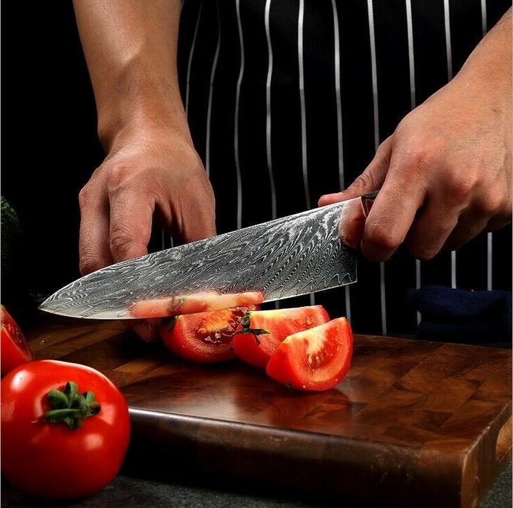 8.2'' Damascus Chef