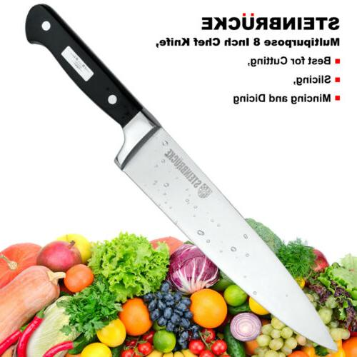 8 Kitchen Knife German 5Cr15Mov Stainless
