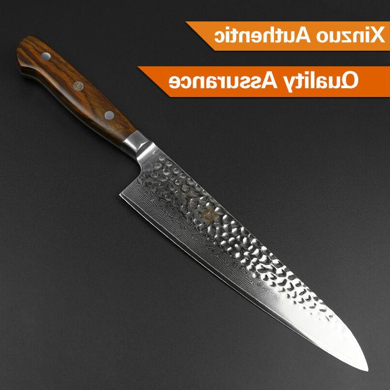 """8"""" knife wooden handle kitchen as gift"""