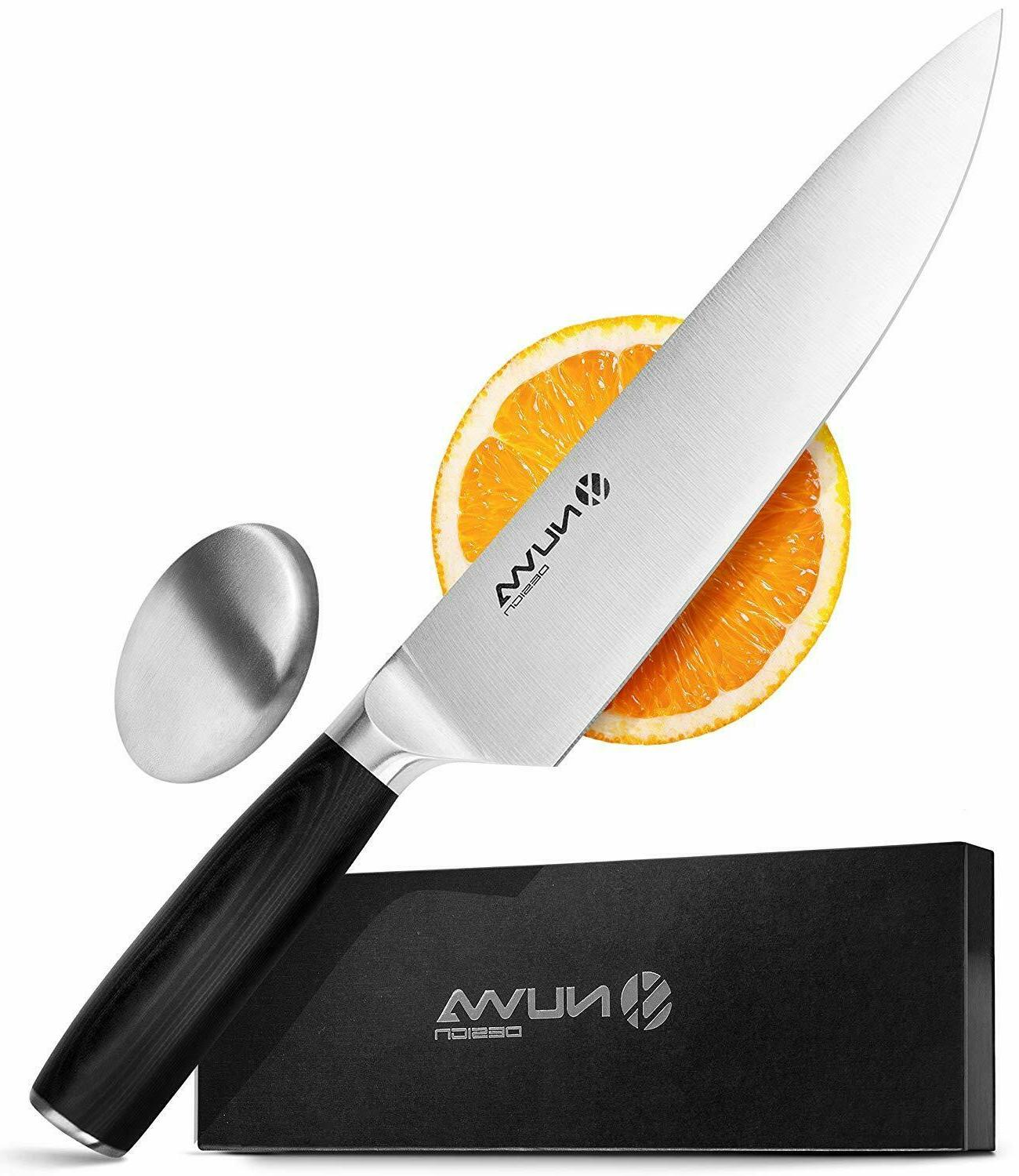 8 inch chef knife high carbon stainless