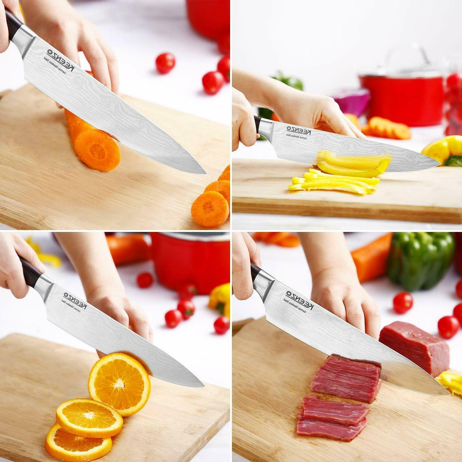 Chef Knife High-carbon Kitchen Sanding Knife