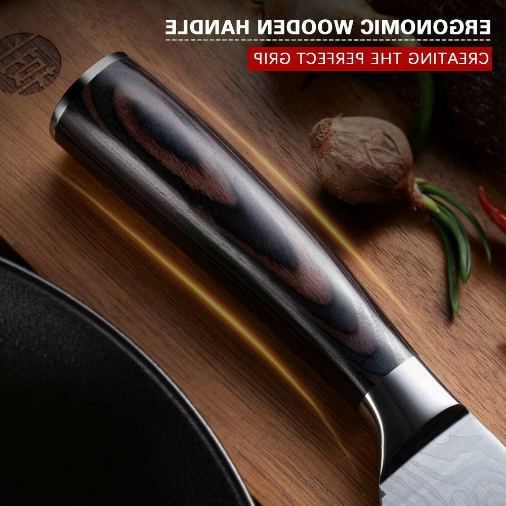 Kitchen Knives Chef Meat Cleaver Damascus Steel