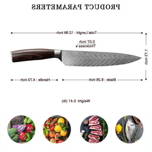 8 Knife Professional High Carbon Stainless Steel Knife