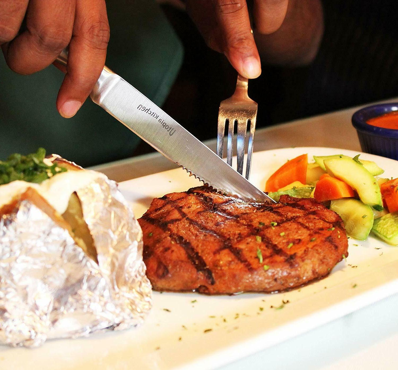 8 Piece Knife Steel Steak