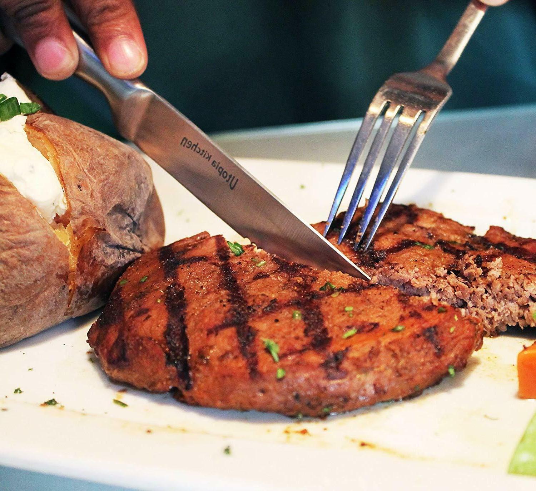 8 Piece Knife Steak Knives Utopia