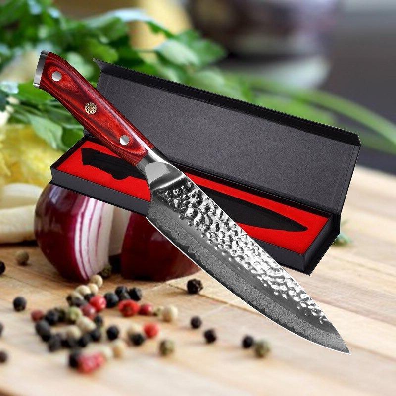 8inc damascus steel professional sharp kitchen chef