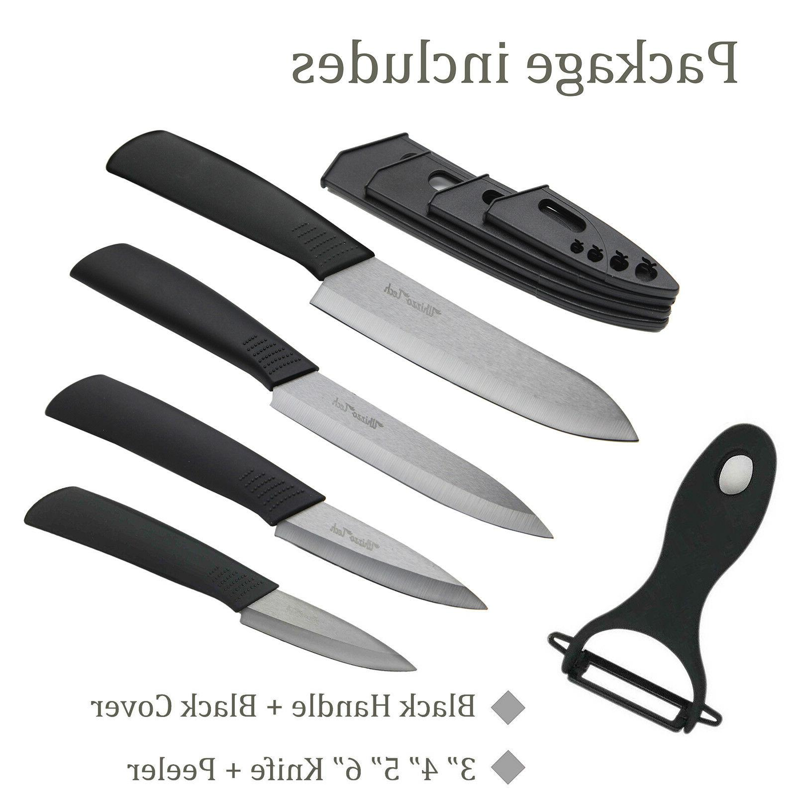 "Blade Sharp Set 4"" 5"" Peeler"