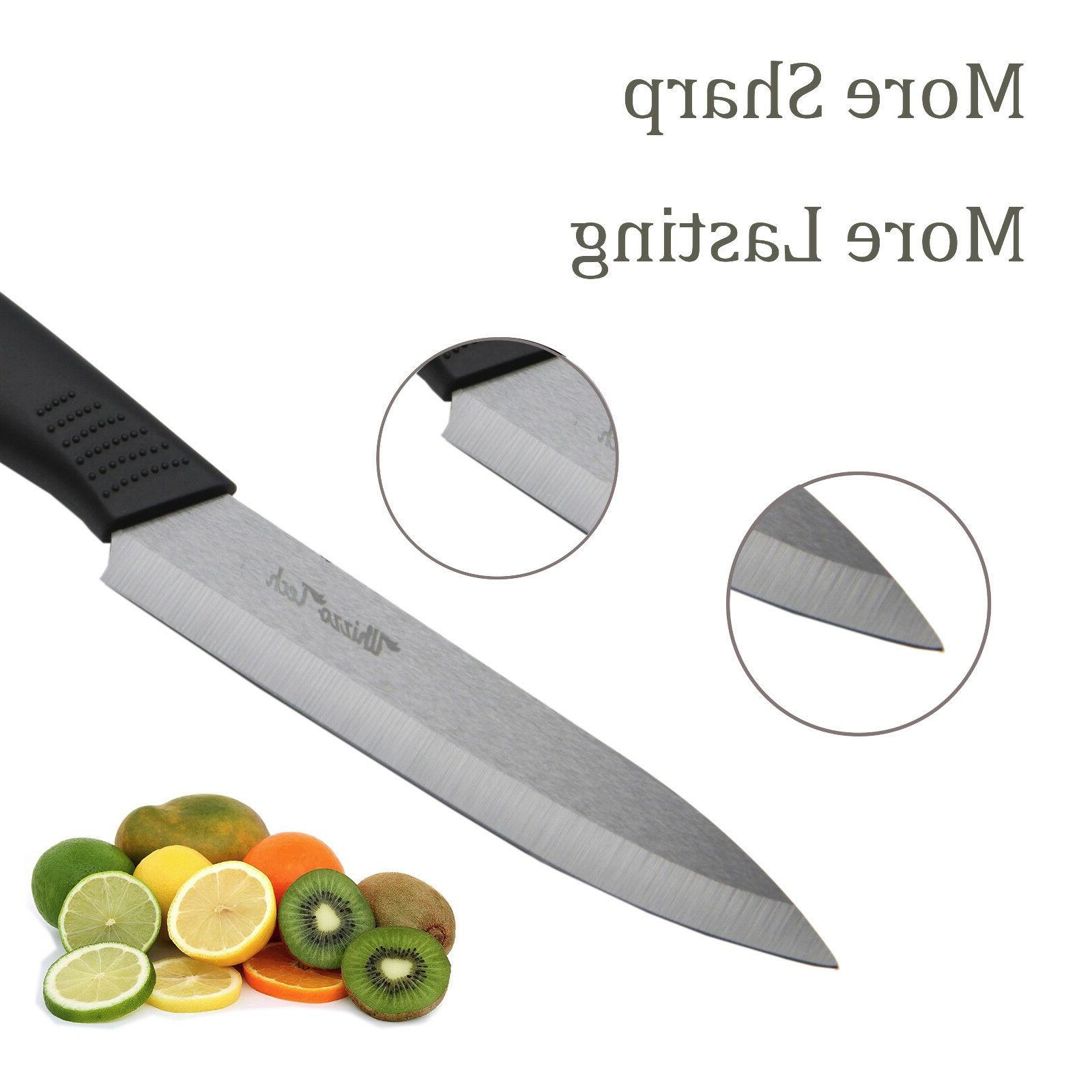"Ceramic Chef's Kitchen Knives 4"" 5"" Knife Cutlery"