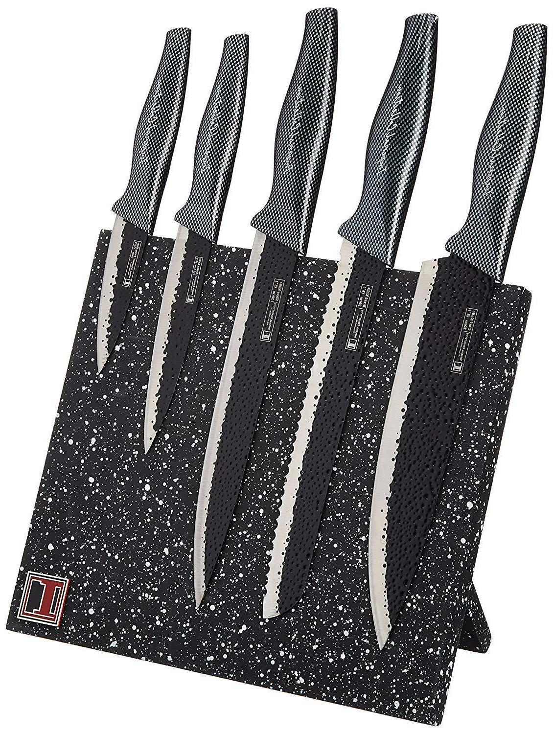 Imperial Collection Stainless Steel 6-Piece Knife Set with M