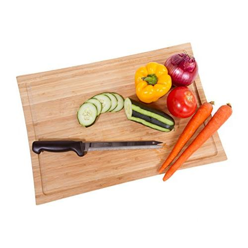 Kitchen Bread Knife Ultra Sharp Stainless Steel Serrated Purpose Kitchen – Never Needs Sharpening - As Seen on TV Live