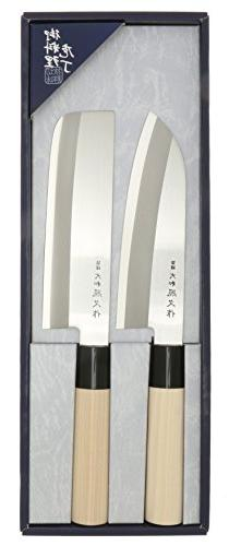 Kotobuki Japanese Teruhisa Kitchen Knife Set, Silver