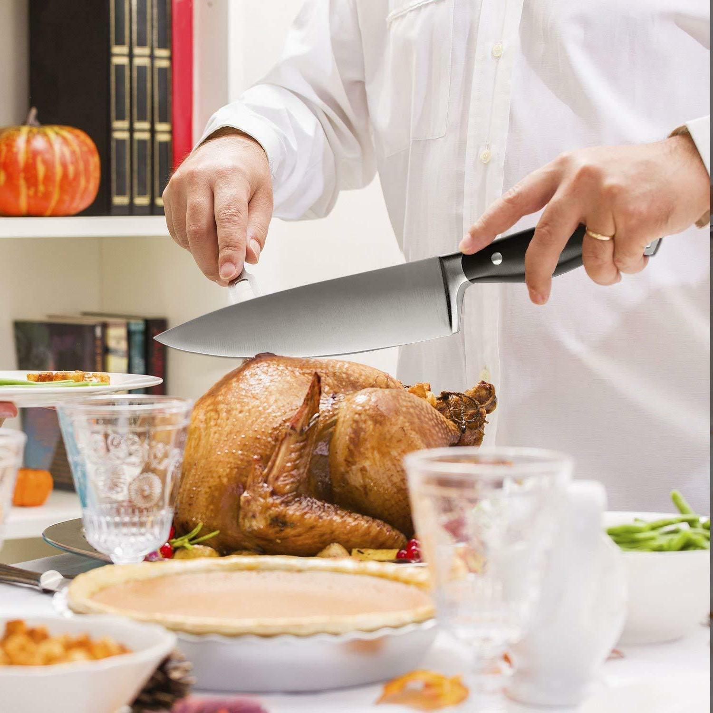 Multipurpose Kitchen Chef 8-inch High Steel