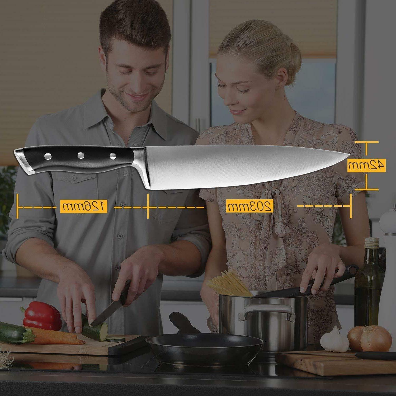 Multipurpose Chef 8-inch Carbon Steel