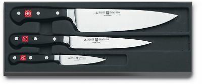 "Wüsthof - Three Piece Cook's Set - 3 1/2"" Paring Knife, 6"