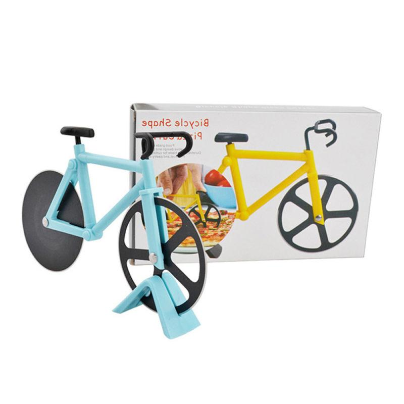 Bicycle Pizza Cutter Slicer Chopper Knife