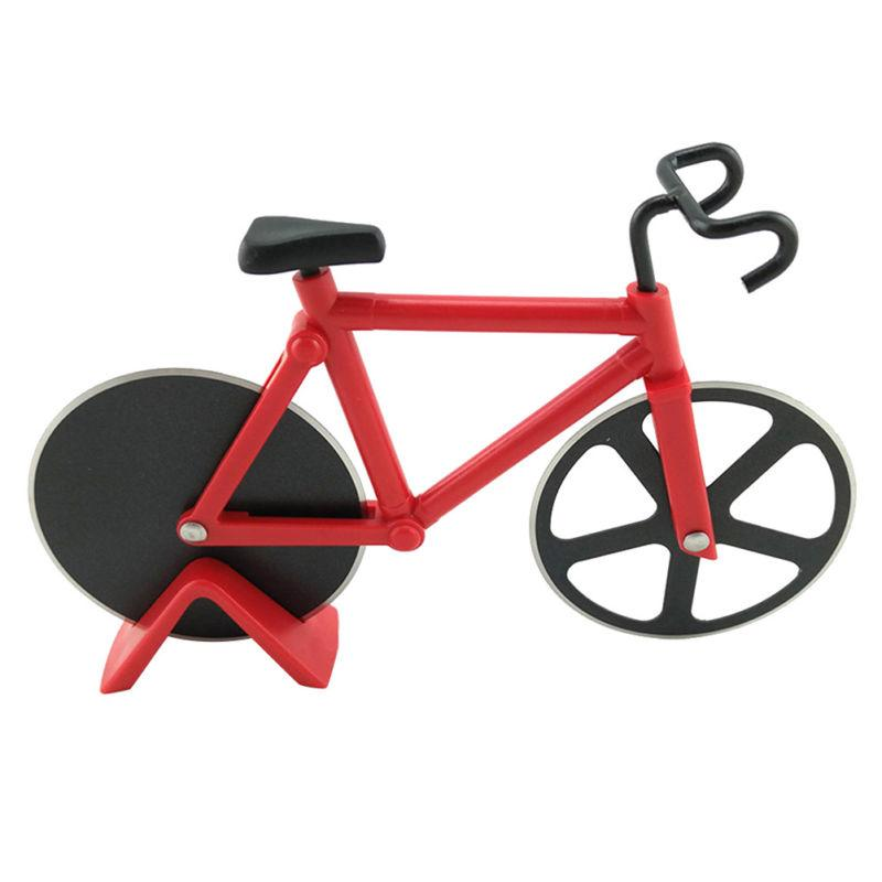 Bicycle Cutter Dual Slicer Steel Chopper Kitchen Knife Tool